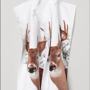 Deer 2-pack Guest Towels